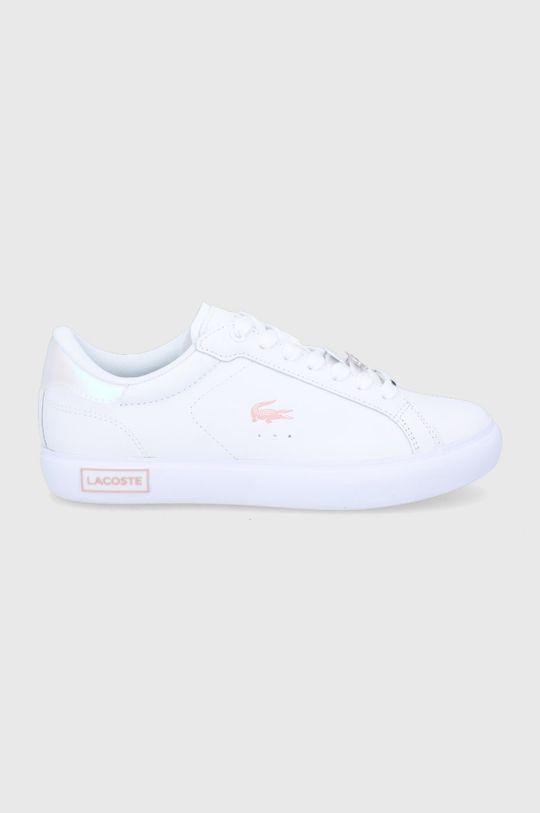 biały Lacoste - Buty skórzane Damski