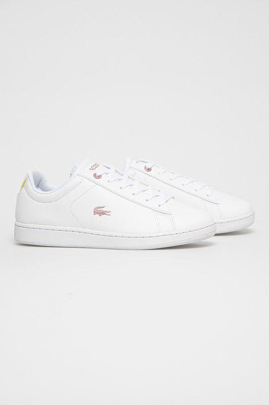 Lacoste - Buty biały