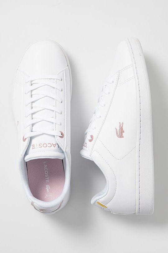 biały Lacoste - Buty