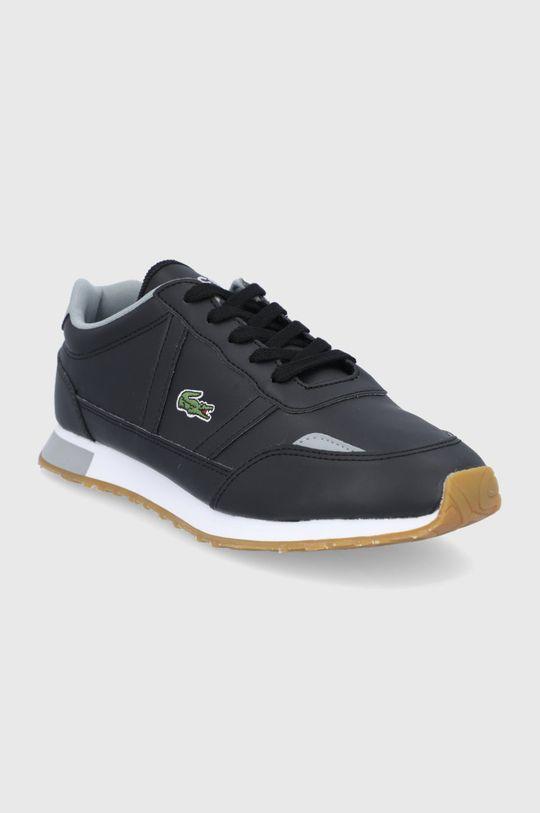 Lacoste - Topánky PARTNER čierna