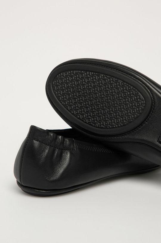 černá Tory Burch - Kožené baleríny