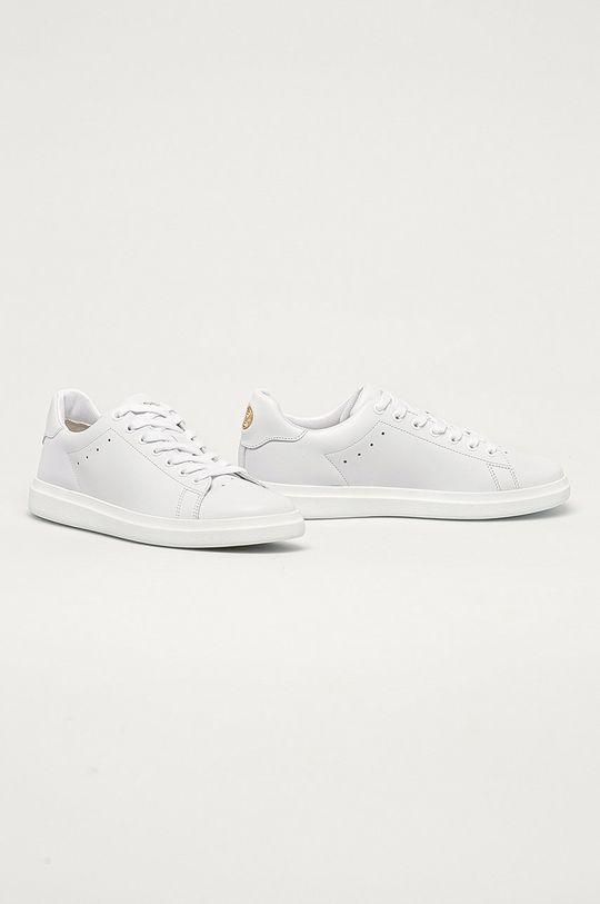 Tory Burch - Kožená obuv biela