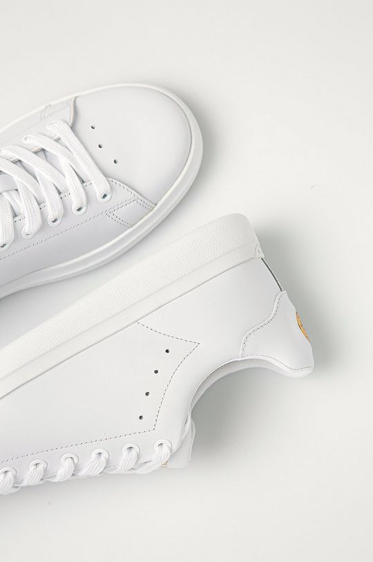biela Tory Burch - Kožená obuv