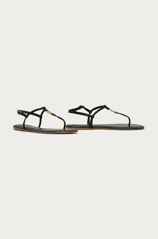 Tory Burch - Sandały skórzane czarny