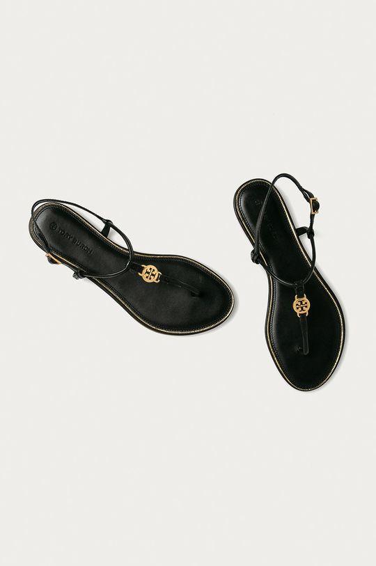 Tory Burch - Sandały skórzane Cholewka: Skóra naturalna, Wnętrze: Skóra naturalna, Podeszwa: Materiał syntetyczny