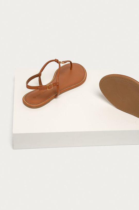 Tory Burch - Kožené sandály  Svršek: Přírodní kůže Vnitřek: Přírodní kůže Podrážka: Umělá hmota