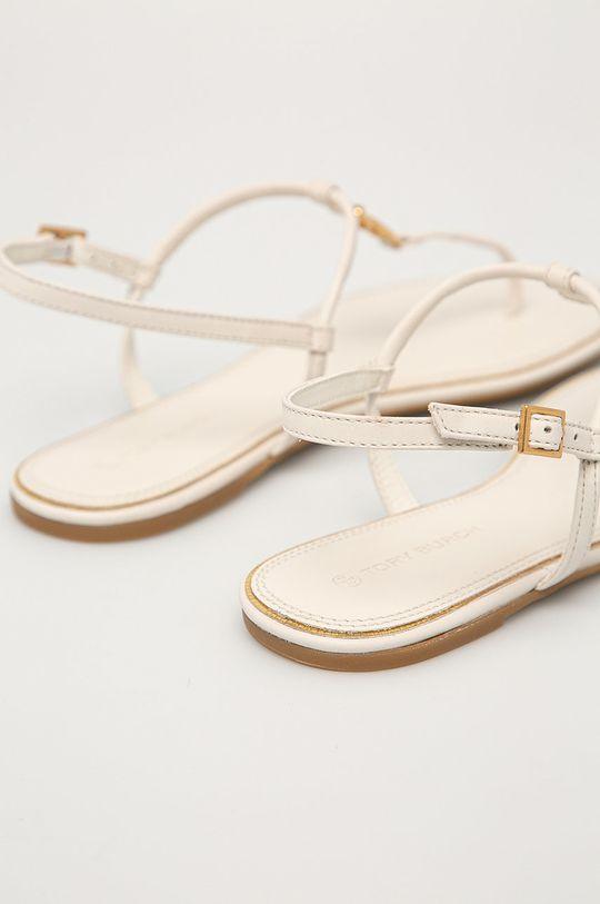 krémová Tory Burch - Kožené sandále