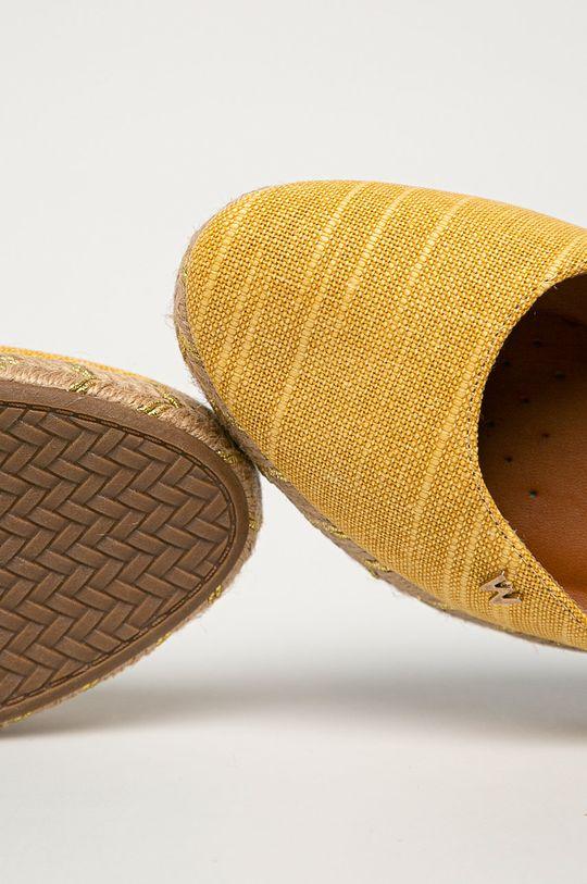 žlutá Wrangler - Espadrilky