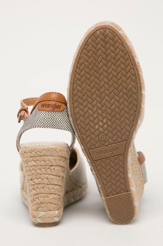 Wrangler - Espadrilky  Svršek: Umělá hmota, Textilní materiál Vnitřek: Umělá hmota, Textilní materiál Podrážka: Umělá hmota