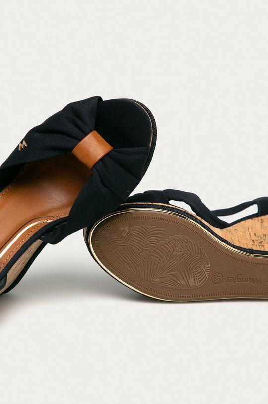 námořnická modř Wrangler - Sandály