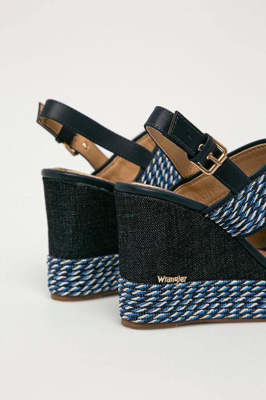 Wrangler - Sandály  Svršek: Textilní materiál Vnitřek: Umělá hmota, Přírodní kůže Podrážka: Umělá hmota
