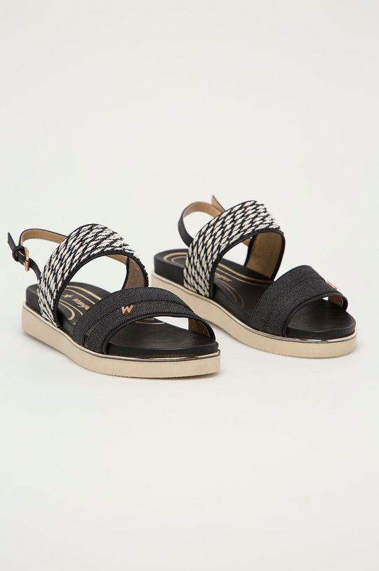 Wrangler - Sandály černá