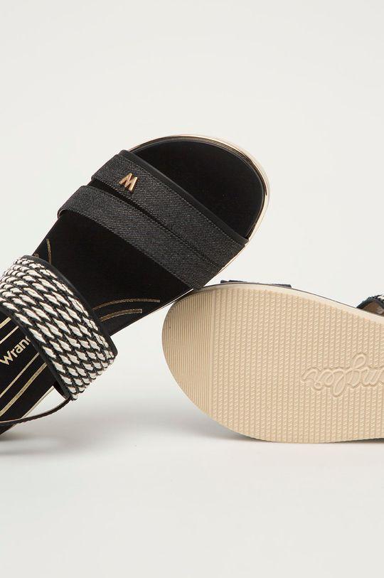 černá Wrangler - Sandály