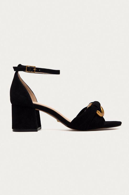 čierna Marciano Guess - Semišové sandále Dámsky