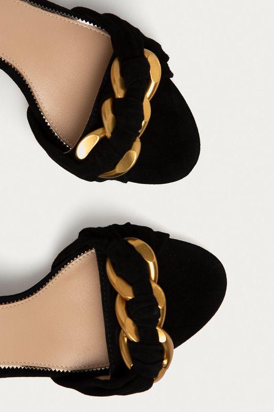 čierna Marciano Guess - Semišové sandále