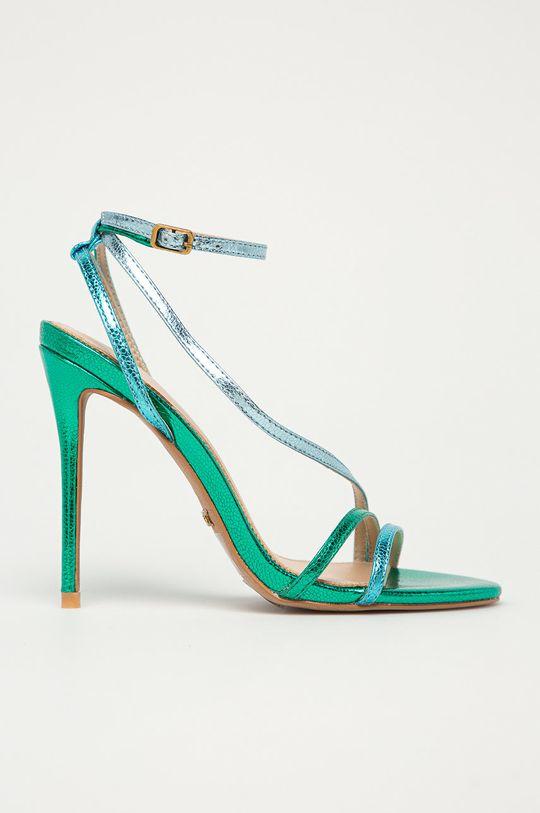 zielony Marciano Guess - Sandały skórzane Damski