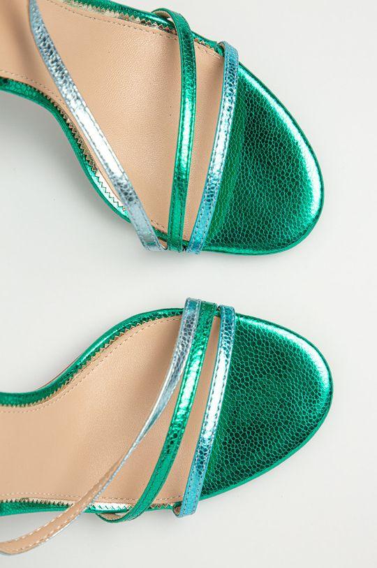 zielony Marciano Guess - Sandały skórzane