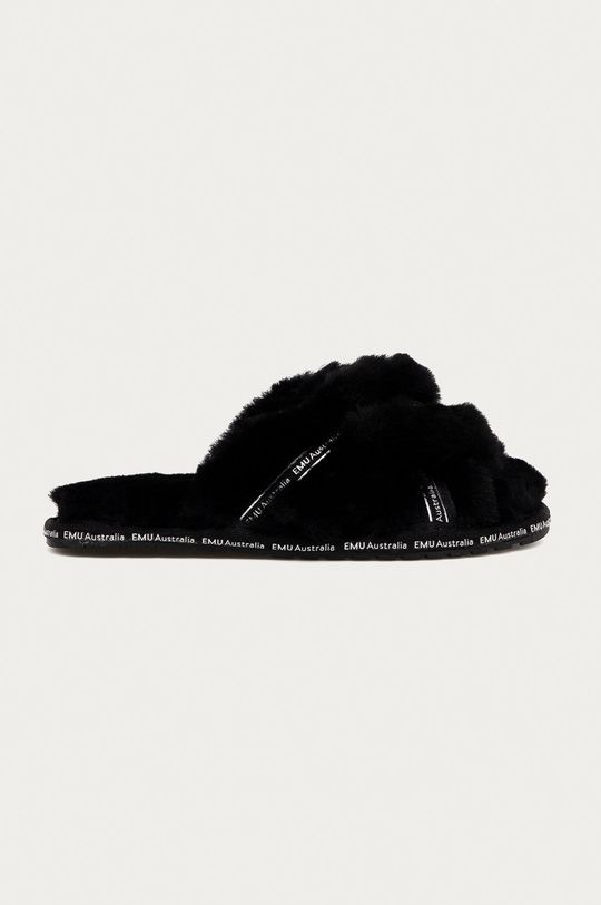 czarny Emu Australia - Kapcie Mayberry Own It Damski