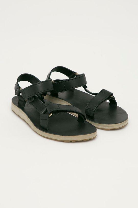 Teva - Kožené sandály černá