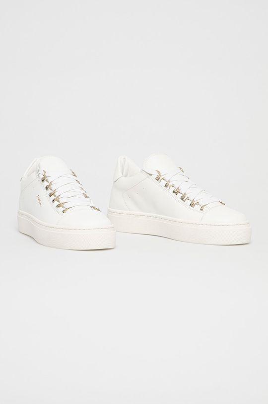Furla - Kožené boty Hikaia bílá