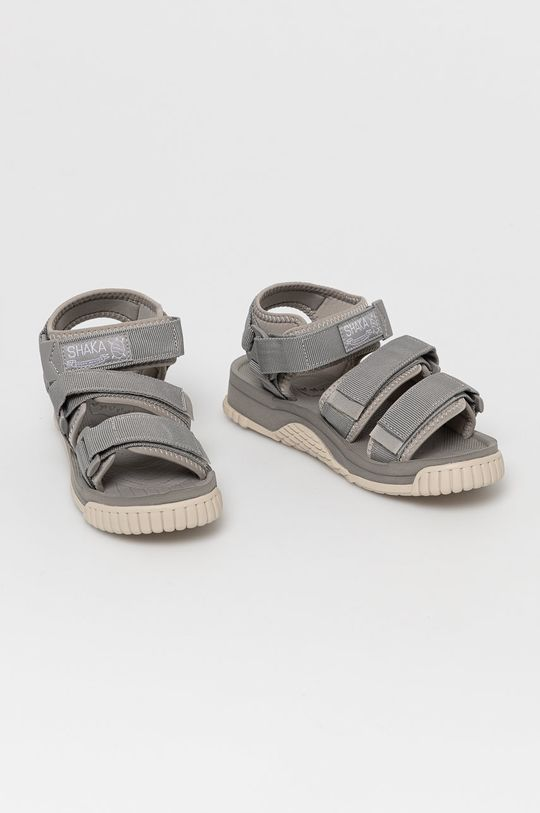 Shaka - Sandále svetlosivá