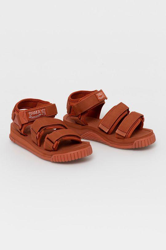 Shaka - Sandały ostry czerwony