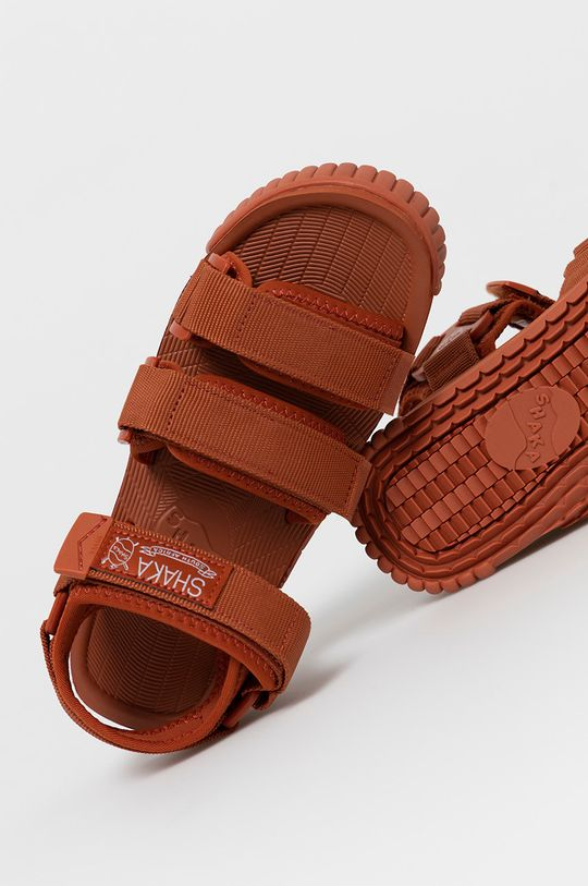 ostry czerwony Shaka - Sandały