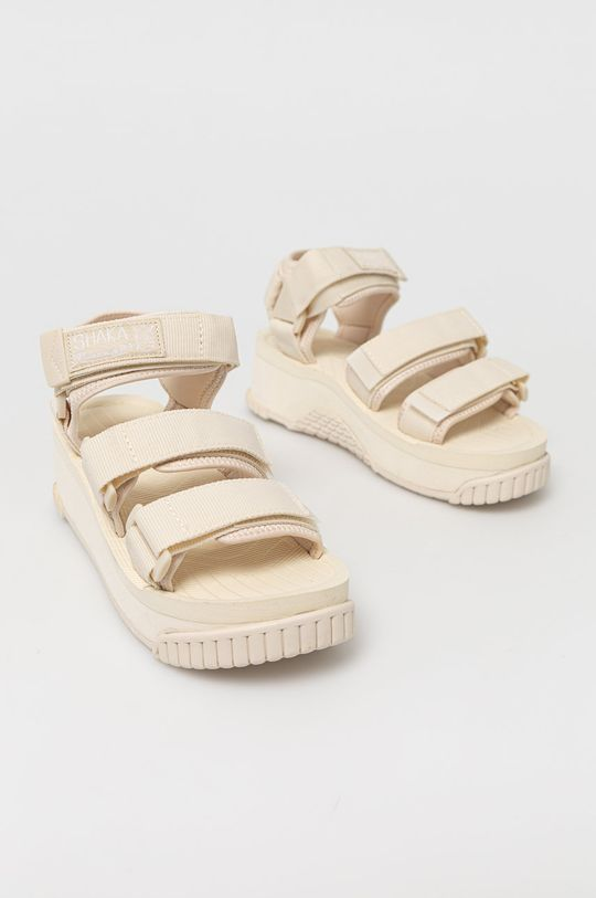 Shaka - Sandały kremowy