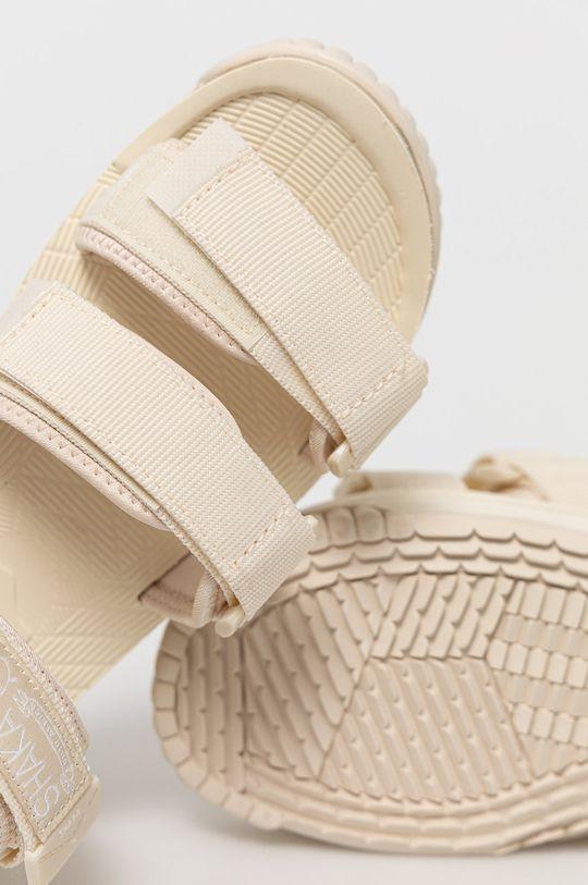kremowy Shaka - Sandały