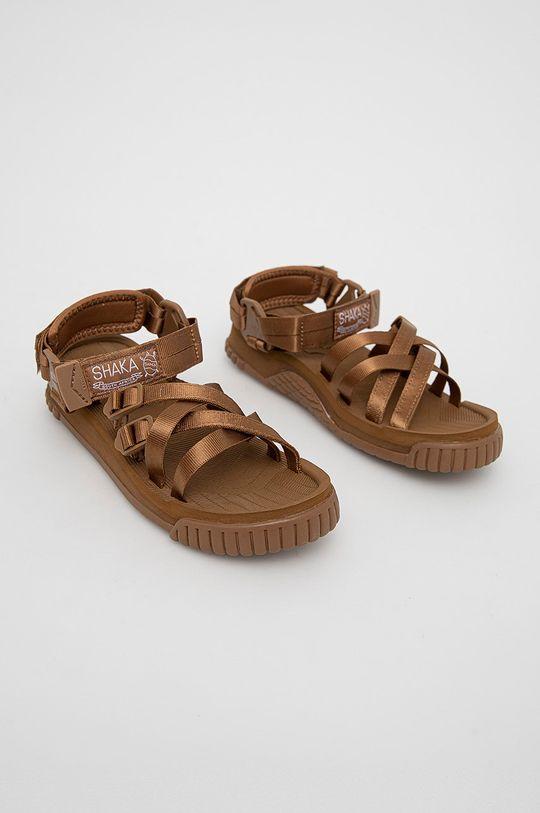 Shaka - Sandály zlatohnědá