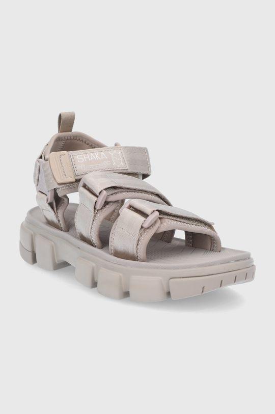 Shaka - Sandały cielisty