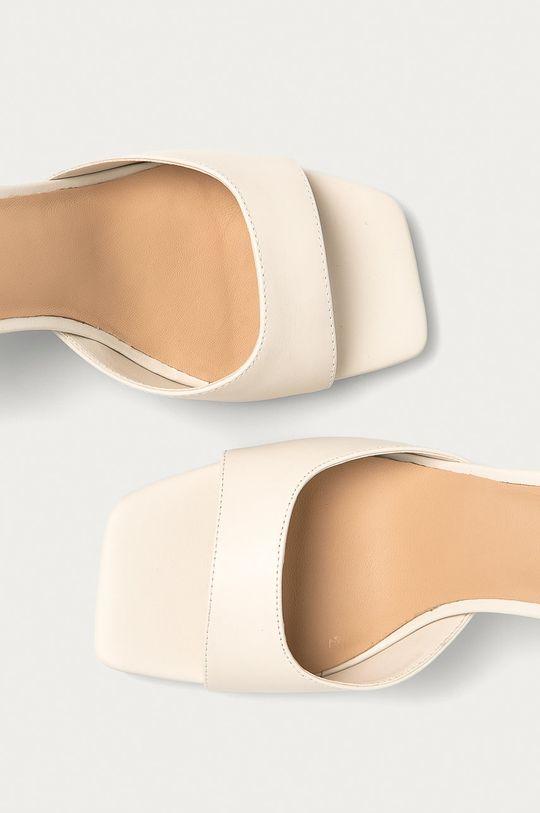 bílá Aldo - Kožené sandály Asteama