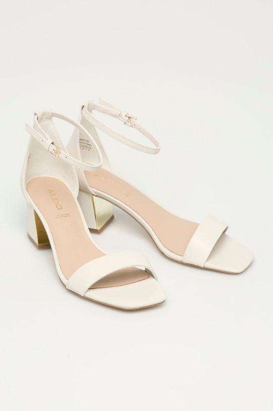 Aldo - Sandały skórzane Kedeaviel biały