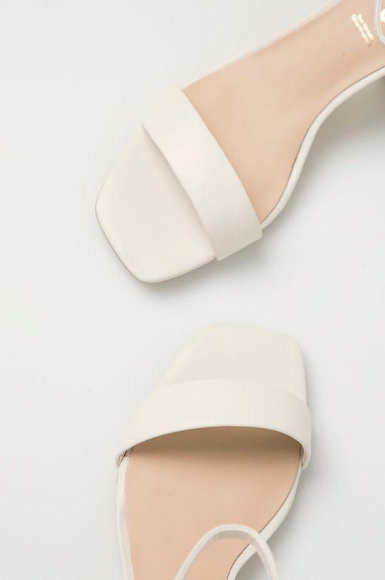 biały Aldo - Sandały skórzane Kedeaviel