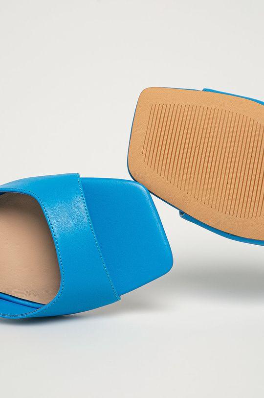 niebieski Aldo - Szpilki skórzane Asteama 400