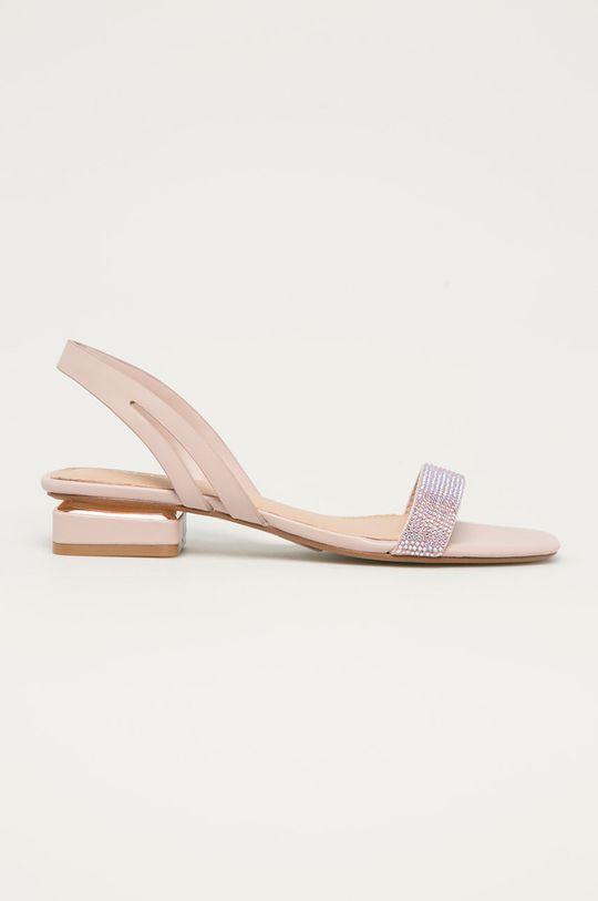pastelowy różowy Aldo - Sandały Adreilla Damski