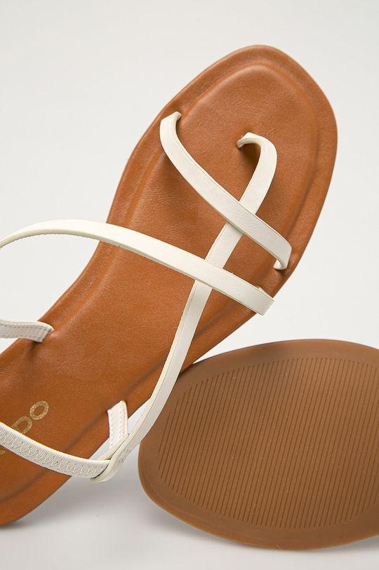 biały Aldo - Sandały Broasa