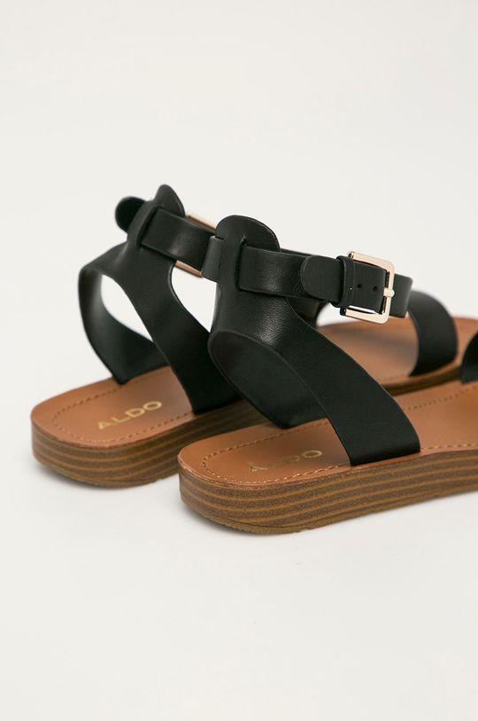 Aldo - Kožené sandály Kedaredia  Svršek: Přírodní kůže Podrážka: Umělá hmota