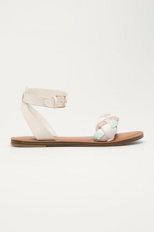 bílá Aldo - Kožené sandály Onerran Dámský