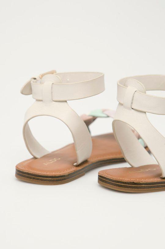 Aldo - Kožené sandály Onerran  Svršek: Přírodní kůže Podrážka: Umělá hmota