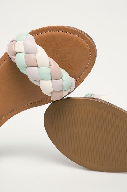 bílá Aldo - Kožené sandály Onerran