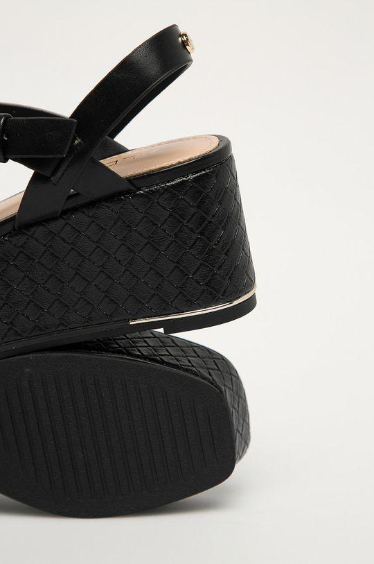čierna Aldo - Sandále Eloiniel 001