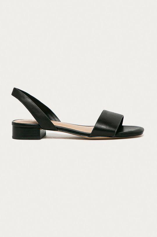 černá Aldo - Kožené sandály DOREDDA Dámský