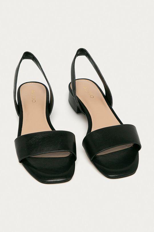 Aldo - Kožené sandály DOREDDA černá