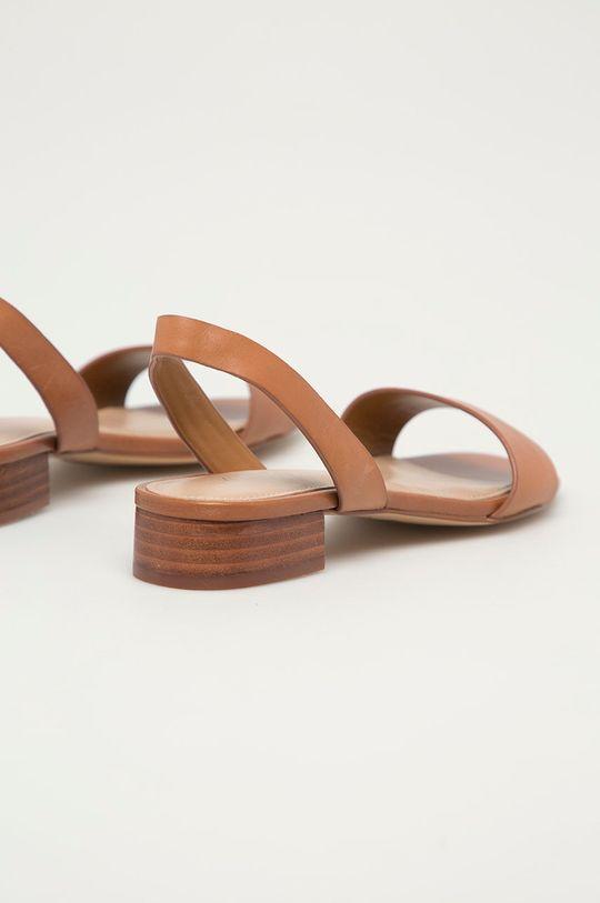 Aldo - Kožené sandály DOREDDA  Svršek: Přírodní kůže Podrážka: Umělá hmota