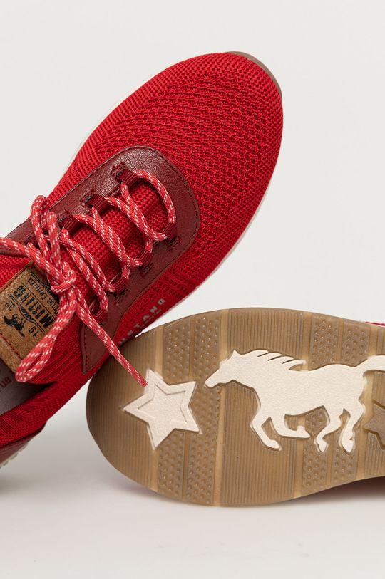 czerwony Mustang - Buty