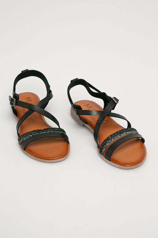 Mustang - Sandály černá