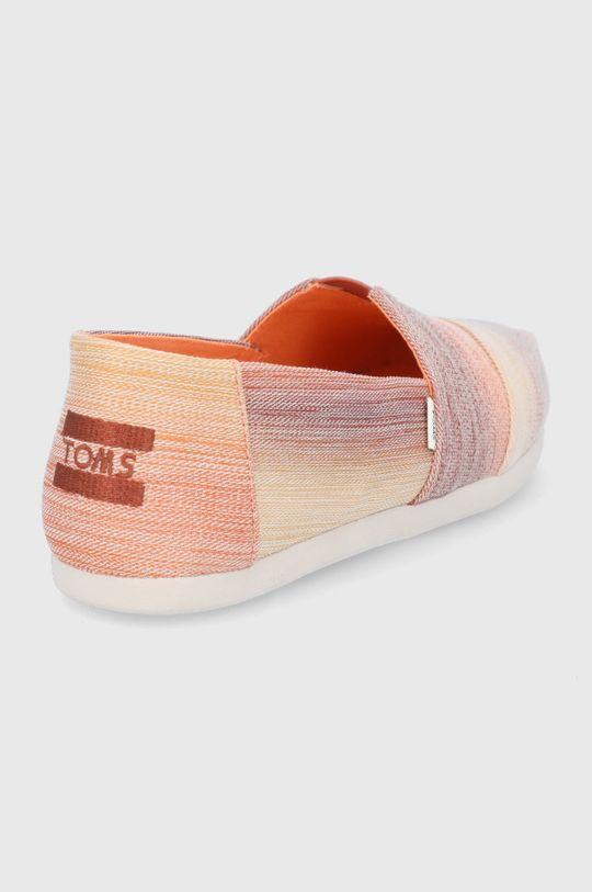 Toms - Espadryle Digital Ombre Cholewka: Materiał tekstylny, Wnętrze: Materiał tekstylny, Podeszwa: Materiał syntetyczny