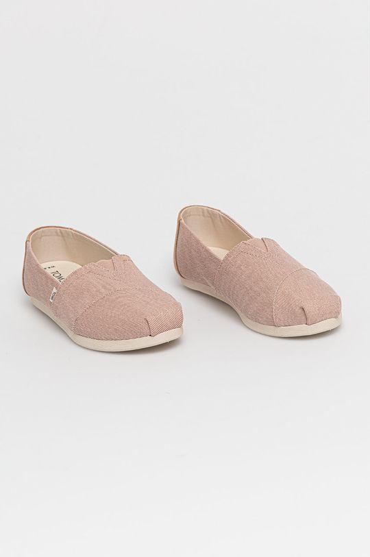 Toms - Espadrilky Alpargata ružovofialová