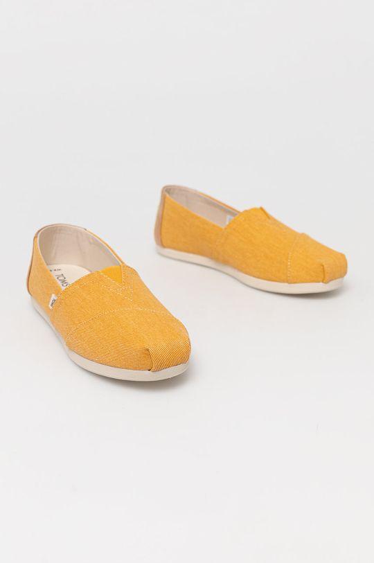 Toms - Espadryle Alpargata żółty